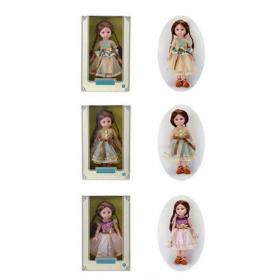 Лялька  1919-1-2-4 (18шт) 31см, 3вида, в кор-ке, 22-34-9см 53122
