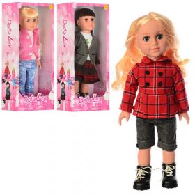 Кукла DEFA 5501 (6шт) 45см, 3 вида, в кор-ке,22-49-11,5 53127