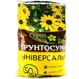 Грунтосуміш 50л ЗЕЛЕН ДАР (40шт піддон) (17071 )