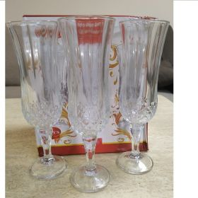 Бокал скляний Dorothy д/шампанського в.200мм (cup-1)  6шт в уп 53787