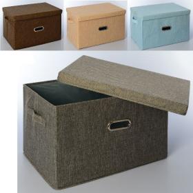 Корзина для игрушек MR 0339-3 (20шт) ящик, коробка, 45-31-28см, 4цвета, в кульке,45-31-4 53997