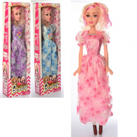 Кукла 569-C (12шт) ростовая, 70см, муз, 3цвета, бат(таб), в кор-ке, 21-74,5-10 54003
