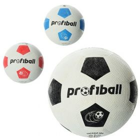 Мяч футбольный VA-0008 размер4,резина Grain,290г,Profiball,сетка,в (36418 )