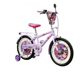 Велосипед 18'' 2-х колес191806 (1шт) со звонком,зеркалом,руч.тормоз 53066