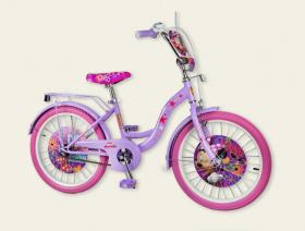 Велосипед 20'' 2-х колес 192004 (1шт) со звонком,зеркалом,без доп.колес 53067