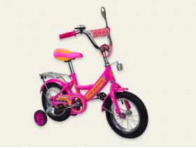 """Велосипед детский 12""""  2-х колёсный  191218 (1шт) Like2bike RALLY, фуксия, без переднего торм 53085"""