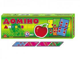 """Доміно """"Дитяче ТехноК"""" картонне 2568 (50251)"""