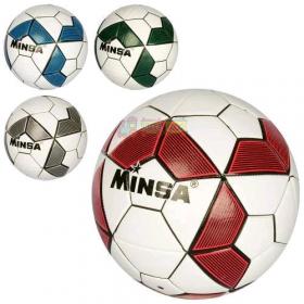 Мяч футбольный MS 2762 (30шт) размер 5, TPE, 400-420г, 4цвета, в кульке 52030