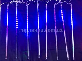 Гирлянда LED 80СМ, мульт + сині 1852-01/41395