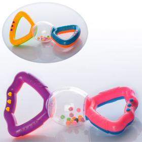 Погремушка 880 ( 2 цвета, в кульке, 14,5-7-3,5см 40461