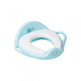"""Туалетне сидіння мяке""""Кіт і Пес"""" (блакитний) PK-020-101 """"TEGA"""" 53571"""