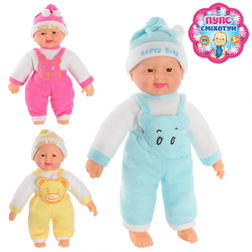Лялька  X 1608/1608-1 хохотун, 3 цвета, в кульке, 38-15-9см 42043