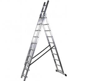Драбина універсальна алюмінієва 3х9 CLA-309 54277