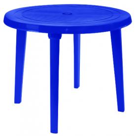 Стіл круглий (Синій) 47204