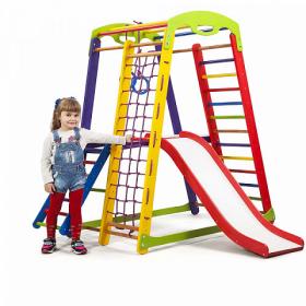 Детский спортивный уголок (150*132*85см) «Кроха - 1 Plus 2» 46906