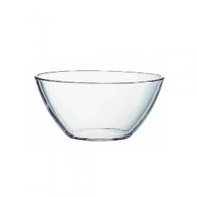 Салатник 11см скляний Гладкий 280мл (07с1322) х6шт 53820