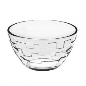 Салатник 11см скляний Лабіринт 280мл (07с1323) х6шт 53822