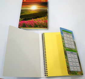 "Блокнот А4 80 арк Special Copybook,на БОКОВІЙ СПІРАЛІ, арт.№462176, ТМ ""Тетрада 10шт уп 48221"