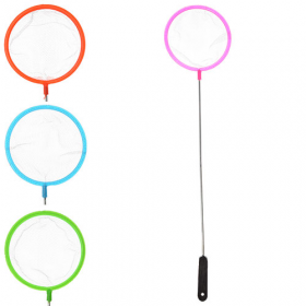 Сачок для акваріума MS 0887 (600шт) довжина 31см, довжина ручки 24см, діаметр 7см, 4 кольори 38194
