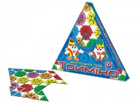 """Триміно ТехноК"""", Настільна гра """" арт.282753457"""