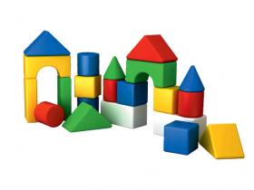 Набір Будівельних елементів Веселка 1 Технок 2599 52074