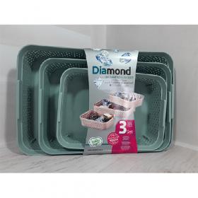 Корзинка Diamond набор S+M+L (10) 04 1271 53548