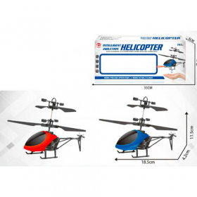 Вертоліт CX138 (36шт) р/у, аккум, 19см, свет, USBзарядное, 2цвета, в кор-ке, 35-15-5см 53946