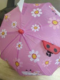 Зонтик детский MK 4477 (30шт) HK,длина62см,трость59см,диам.72см,спица46см,ушки,ткан 53973