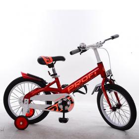 Велосипед 14д дит. PROF1 W14115-1 Original, черв. крила,дзвінок, дод.колеса 42294