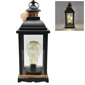 Лампа-фонарь с подсветкой 13х13х28см R28322 (20шт)54179