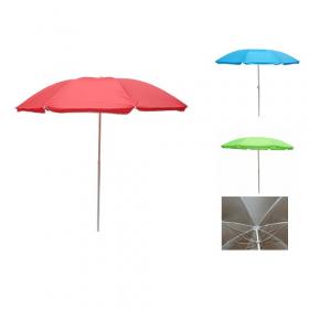 Зонт пляжний ромашка d1.8м срібло (однотон) MH-2686 (47949)