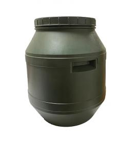 Бочка кругла 40л (акційна) зелена (19721 )