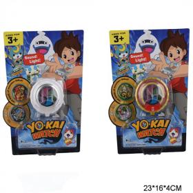 Годинник TD1002-A40/A41 Yo-Kai Watch наруч.З проект звук 2в.кор.23х4х16 /240/ 50426
