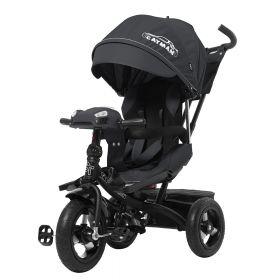 Велосипед трьохколісний TILLY CAYMAN T-381 чорний  51408