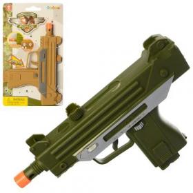Пістолет 33910 (216шт) 17,5см, звук, 2кол  бат(таб), на листі, 13-23-2,5см 50616