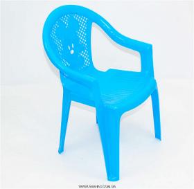 Крісло дитяче №2 (Голубой) 09103