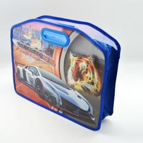 Папка портфель детский 36,5х30х10см ST00403 53010