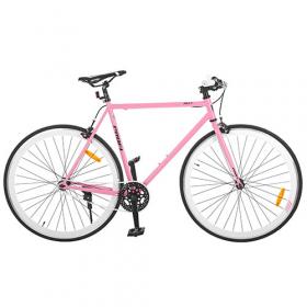 Велосипед 28д. G56JOLLY S700C-4 сталь. рама 56см, алюм. СB, трек. кол.700Cх23C,двойн.обод 42278