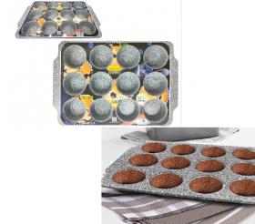 Форма Granit. для випічк.(12)кексов MR-1128-12 Maestro 48862