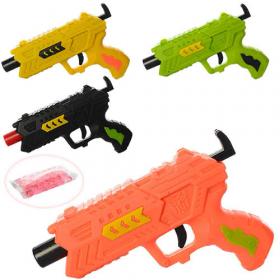 Пистолет 696-6 (180шт) 13,5см, водяные пули, 4 цвета, в кульке, 13,5-10-3 54030