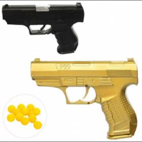 Пистолет HC-777 (234шт) 14см, на пульках, 2цвета, в кульке, 14-10-2 54032