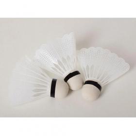 Воланчик MS 1957 (480шт) 8см, белый пластик, упаковка 3шт (кулек), 12-9-3см 52439