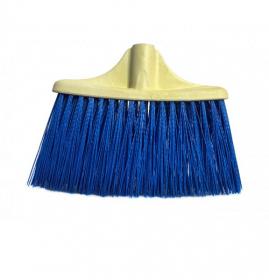 Щітка Мітла без ручки, 27см, пластикова Синя EF-0100 Blue 54043