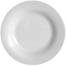 Milika.White.Тарілка обідня кругла 23см х12 шт300417