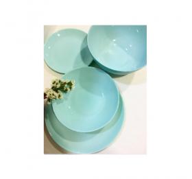 Lum.Diwali Light Turquoise.Тарілка підставна кругла 27,3см 24шт/уп  302133